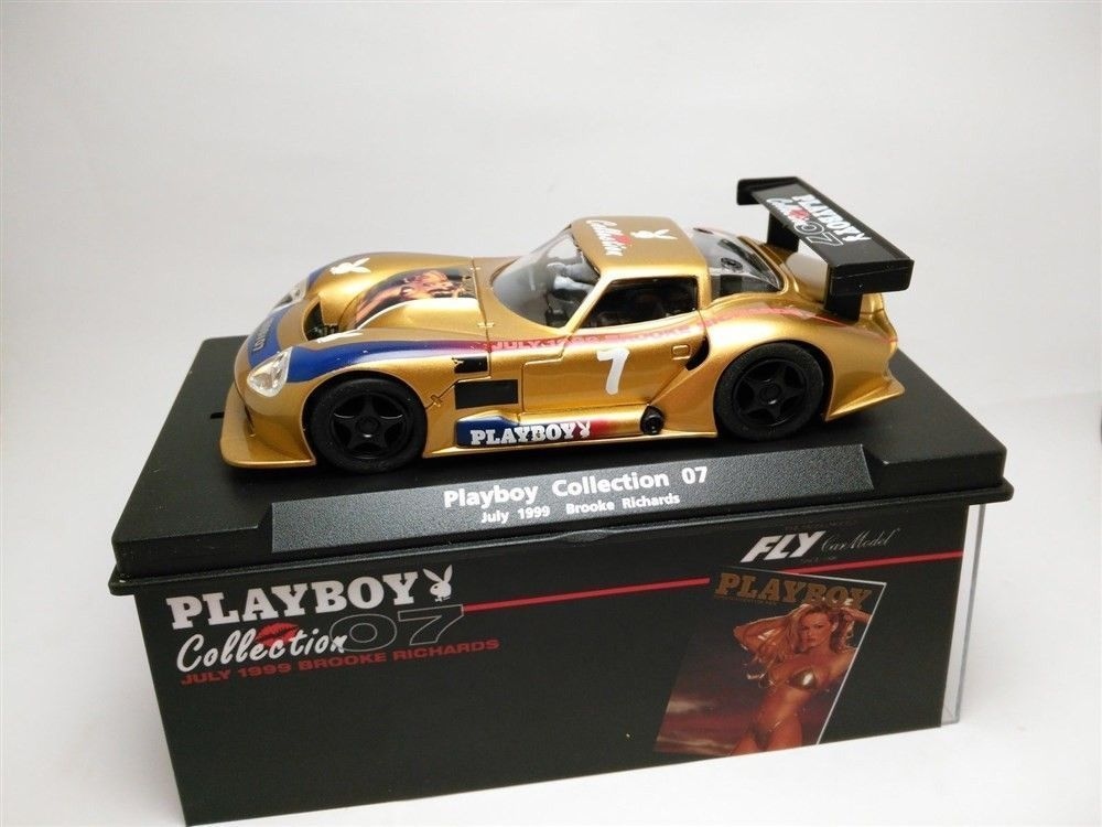 Coche de Scalextric Fly Marcos LM 600 Playboy Collection 1999 Compatible 1/32
