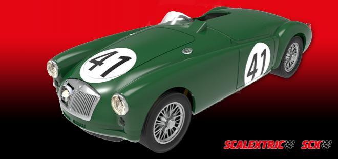 MG A 1955 Le Mans Scalextric U10318S300