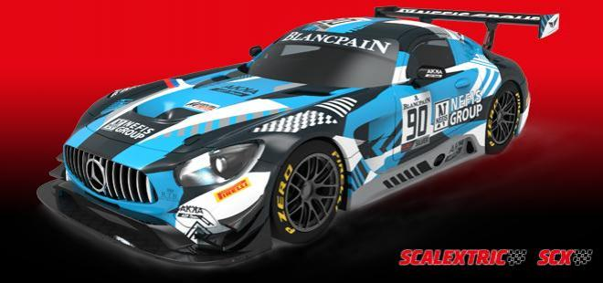 Mercedes AMG GT3 Nefis Scalextric advance