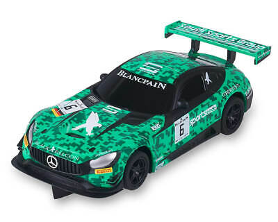 Coche Scalextric Compact Mercedes AMG GT3 #6 GREEN SPORT CODE BLANCPAIN SCX C10309S300