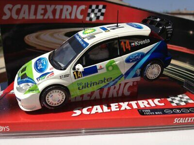 Ford Focus Scalextric 1/32 Mexico Slot Car