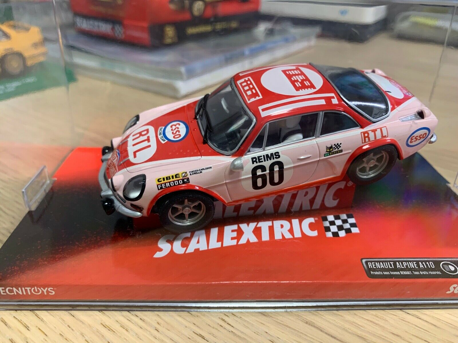 """SCALEXTRIC RENAULT ALPINE A110 """"RALLY MONTECARLO"""" .."""