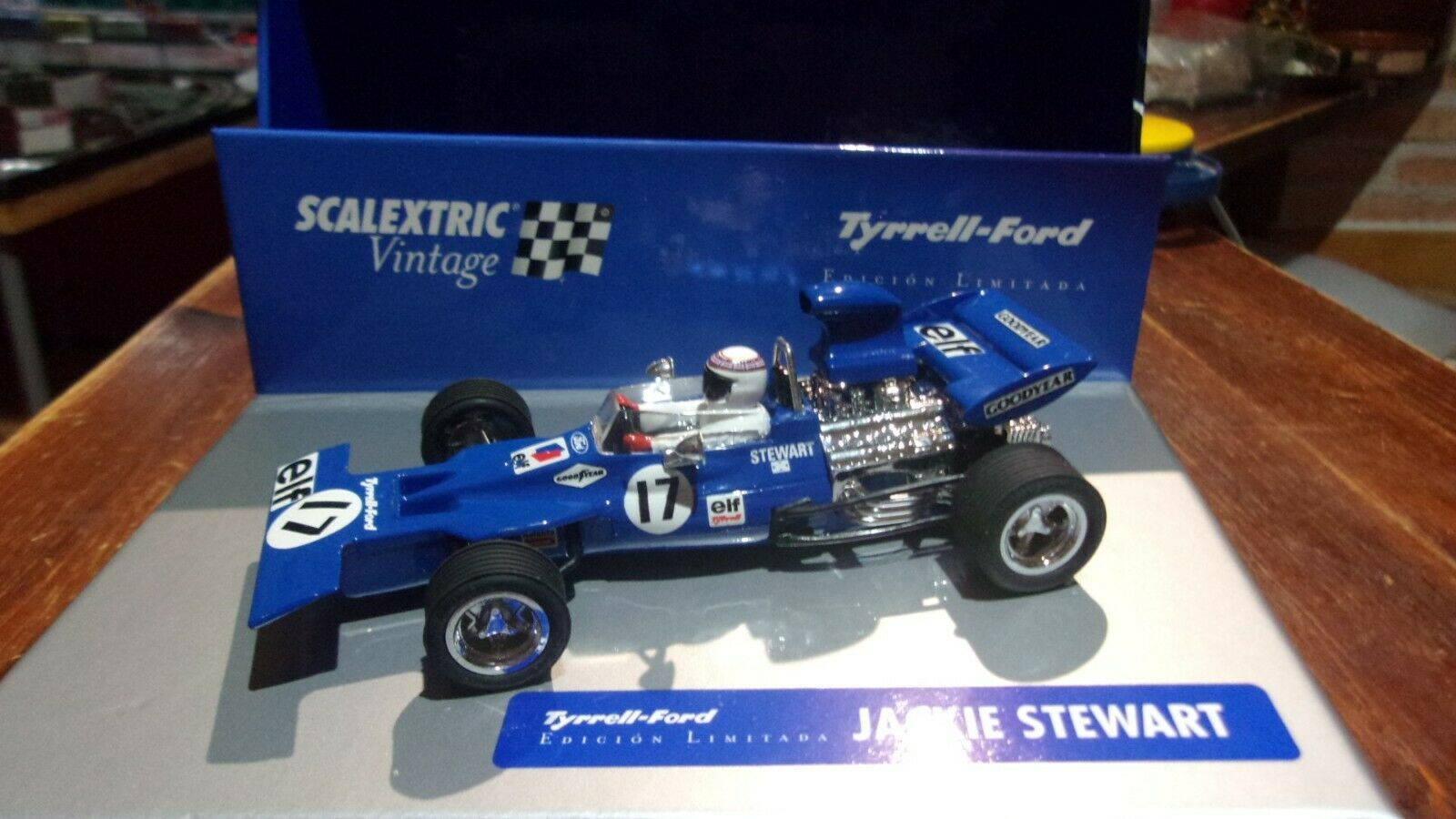 SCALEXTRIC TYRRELL FORD F1 VINTAGE