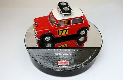 Slot car SCALEXTRIC Vintage MINI COOPER 1275S Ref. 60730 limited edition N.O.S.